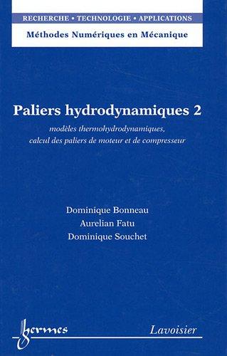 PALIERS HYDRODYNAMIQUES 2: BONNEAU
