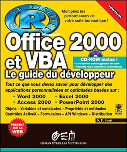 Office 2000 et VBA - la référence: D. F. Scott