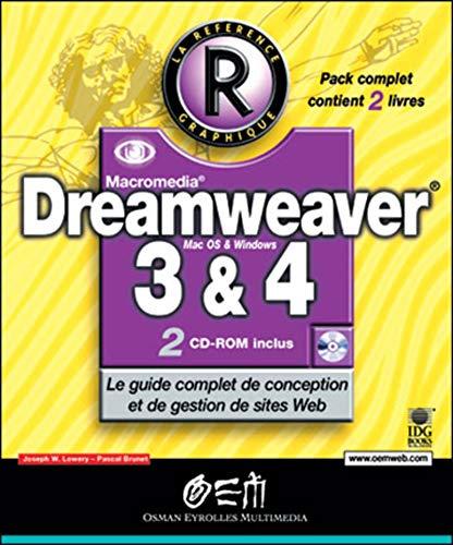Dreamweaver 3 et 4: Lowery, Joseph W.