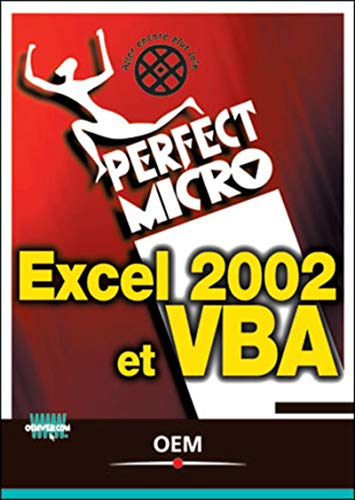 Excel 2002 et VBA (2746404206) by Walkenbach, John