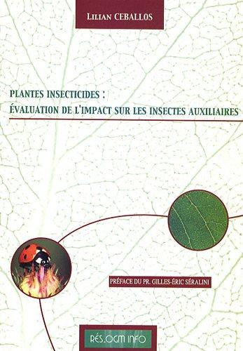 9782746603769: PGM insecticides : évaluation de l'impact sur les insectes auxiliaires