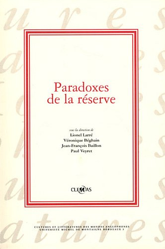 9782746631588: Paradoxes de la r�serve
