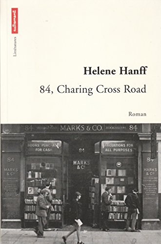 84, Charing Cross Road, in French language (French Edition) (2746700581) by Helene Hanff
