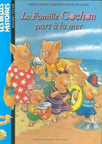 9782747008075: La Famille Cochon part à la mer