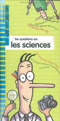 9782747009430: Tes questions sur le sciences