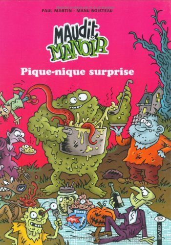 9782747012478: Maudit Manoir, tome 1 : Pique-nique surprise