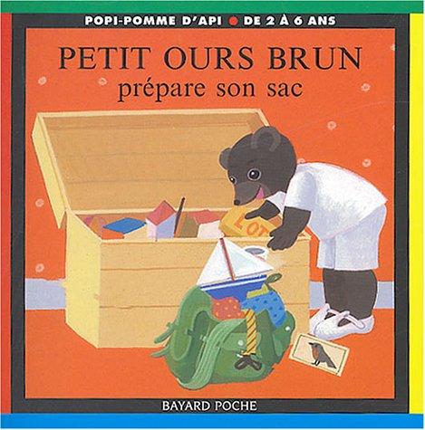 9782747014434: Petit Ours Brun prépare son sac