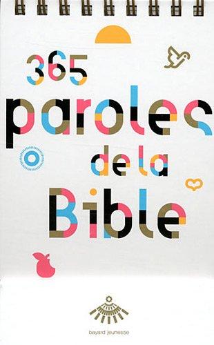 9782747034906: 365 paroles de la Bible