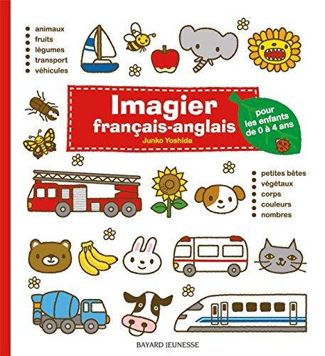 9782747039666: Imagier français-anglais (rouge): pour les enfants de 0 à 4 ans