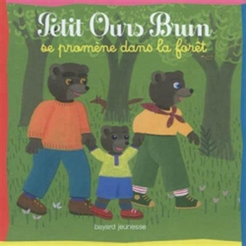 9782747042864: Petit ours brun se prom�ne dans la for�t