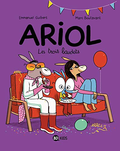 9782747044622: Ariol - Les Trois Baudets- T8