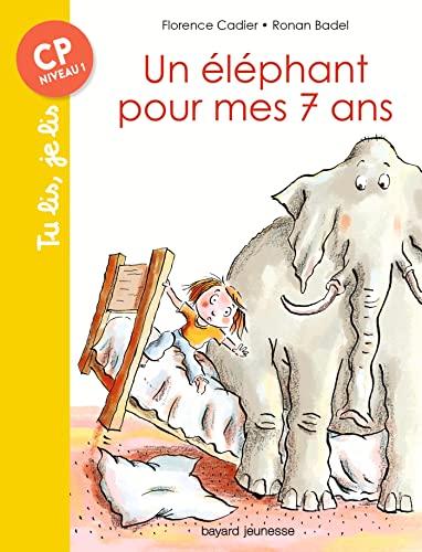 9782747051989: Un éléphant pour mes sept ans (Tu lis, je lis)