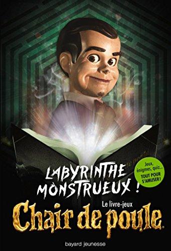 9782747062114 Labyrinthe Monstrueux Le Livre Jeux Chair