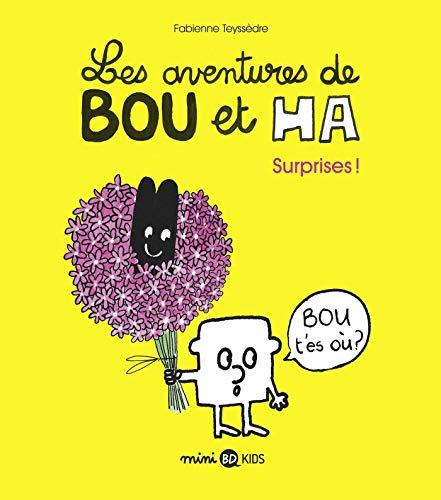 9782747085595: Les aventures de Bou et Ha, Tome 01: Surprises !