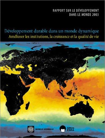 Rapport sur le dà veloppement dans le: Banque mondiale
