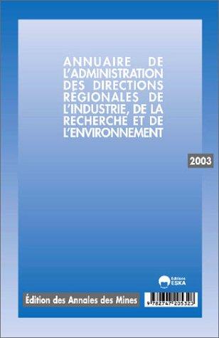 annuaire dride 2003