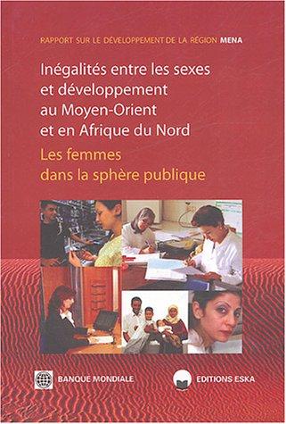 """""""inegalites entre les sexes et developpement au moyen-orient et afrique du nord ; les femmes ..."""