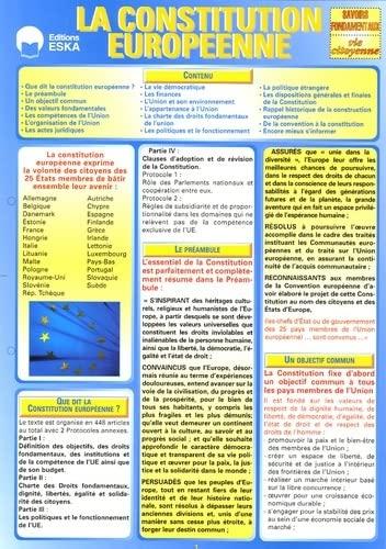 La Constitution Européenne: François Voisin; Pierre