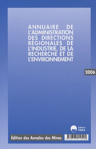 annuaire drire 2006