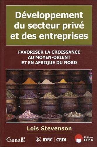 Développement du secteur privé et des entreprises: Loïs Stevenson