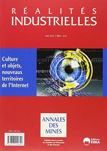 Ri mai 2013 culture et objets nouveaux territoires de l'internet: Annales Des Min