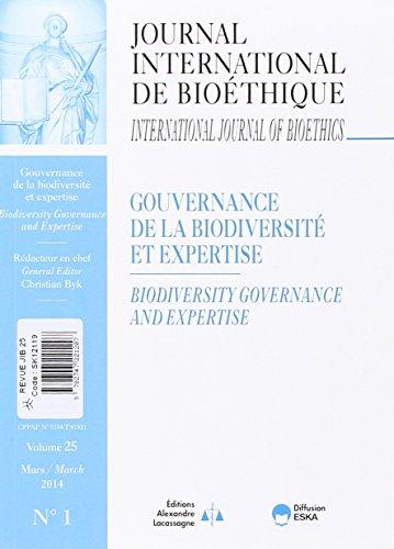Gouvernance de la Biodiversite et Expertise Revue Jib: Byk