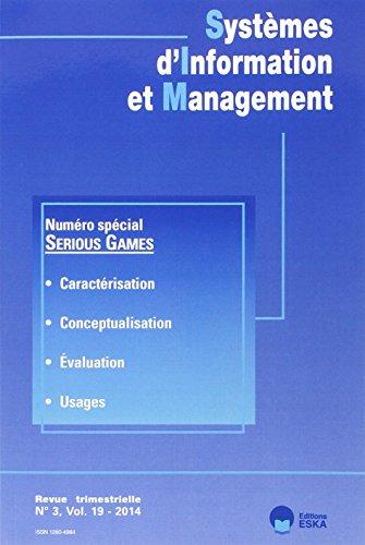 Systemes d'information et management 3 vol 19 2014