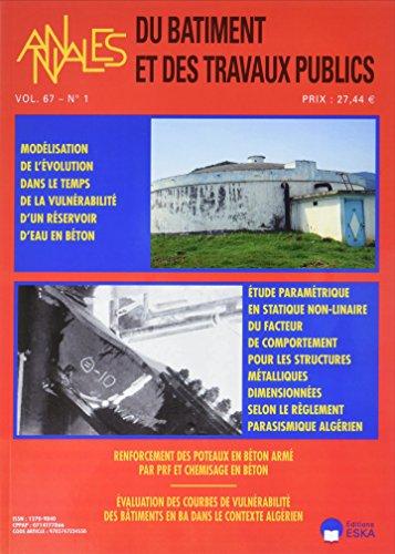 Annales du Bâtiment et des Travaux Publics 1-2015