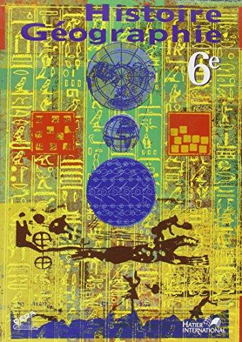 9782747300773: histoire geographie, 6e, livre de l'eleve, rci