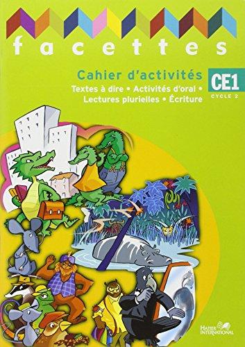 9782747305877: Facettes CE1 Cahier d Activites Maroc