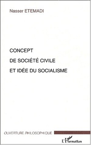 9782747522908: Concept de société civile et idée du socialisme