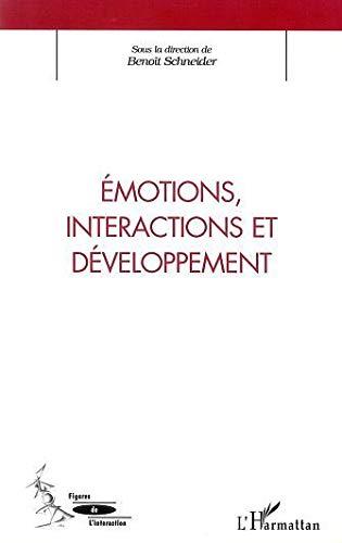 9782747524759: Emotions interactions et developpement