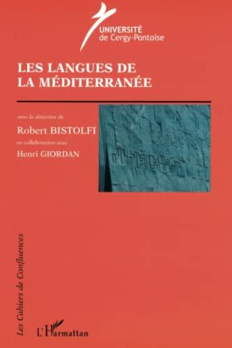 9782747538190: les langues de la mediterrannee