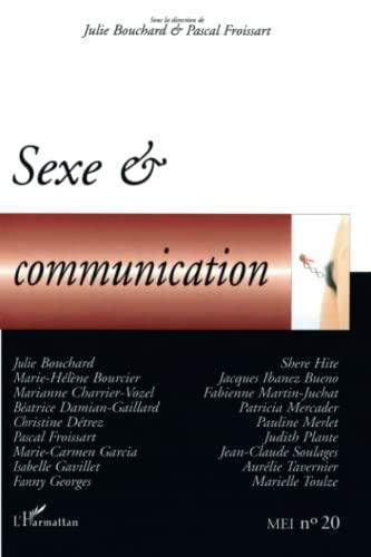 9782747572095: MEI, N° 20 : Sexe & communication