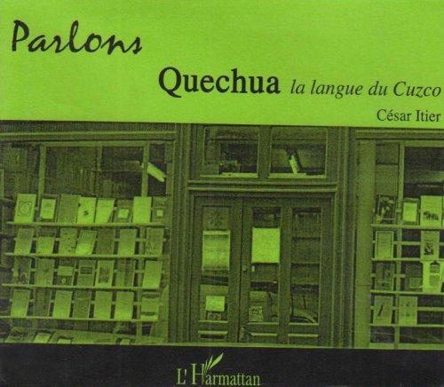 9782747577762: CD parlons quechua