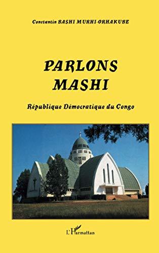 9782747588942: Parlons mashi : R�publique D�mocratique du Congo