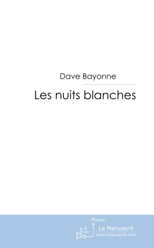 9782748192926: les nuits blanches