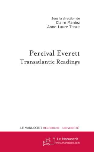 9782748196405: Percival Everett: Transatlantic Readings (French Edition)