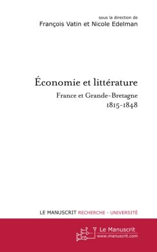9782748198645: Economie et littérature