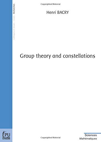 9782748303056: group theory and constellations