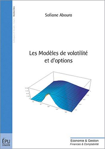 9782748309560: Les modeles de volatilite et d'options (French Edition)