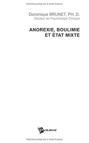 9782748319057: anorexie, boulimie et état mixte