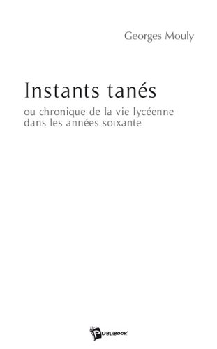 9782748336559: Instants Tanes