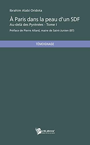 9782748361742: À Paris dans la peau dun S.D.F