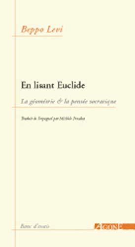 9782748900163: En lisant Euclide (French Edition)