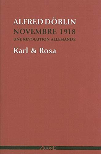 Novembre 1918 une révolution allemande, t. 04: Döblin, Alfred