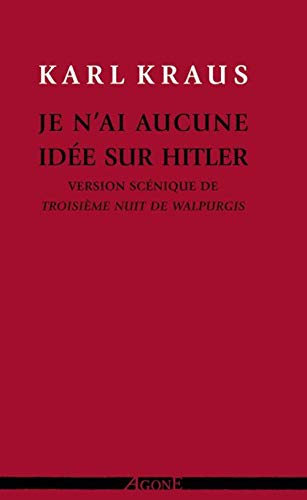 9782748901863: Je n'ai aucune id�e sur Hitler