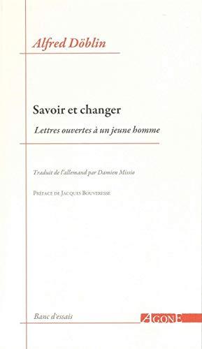 SAVOIR ET CHANGER: DOBLIN ALFRED