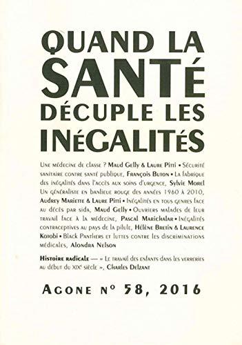 AGONE 58-QUAND LA SANTE DECUPLE LES INEG: COLLECTIF