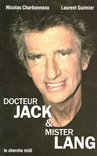 9782749101897: Docteur Jack et Mister Lang